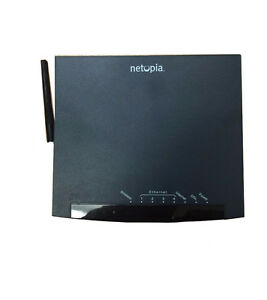 Netopia-DSL2-4-Port-Wireless-Ethernet-Router-Very-Good