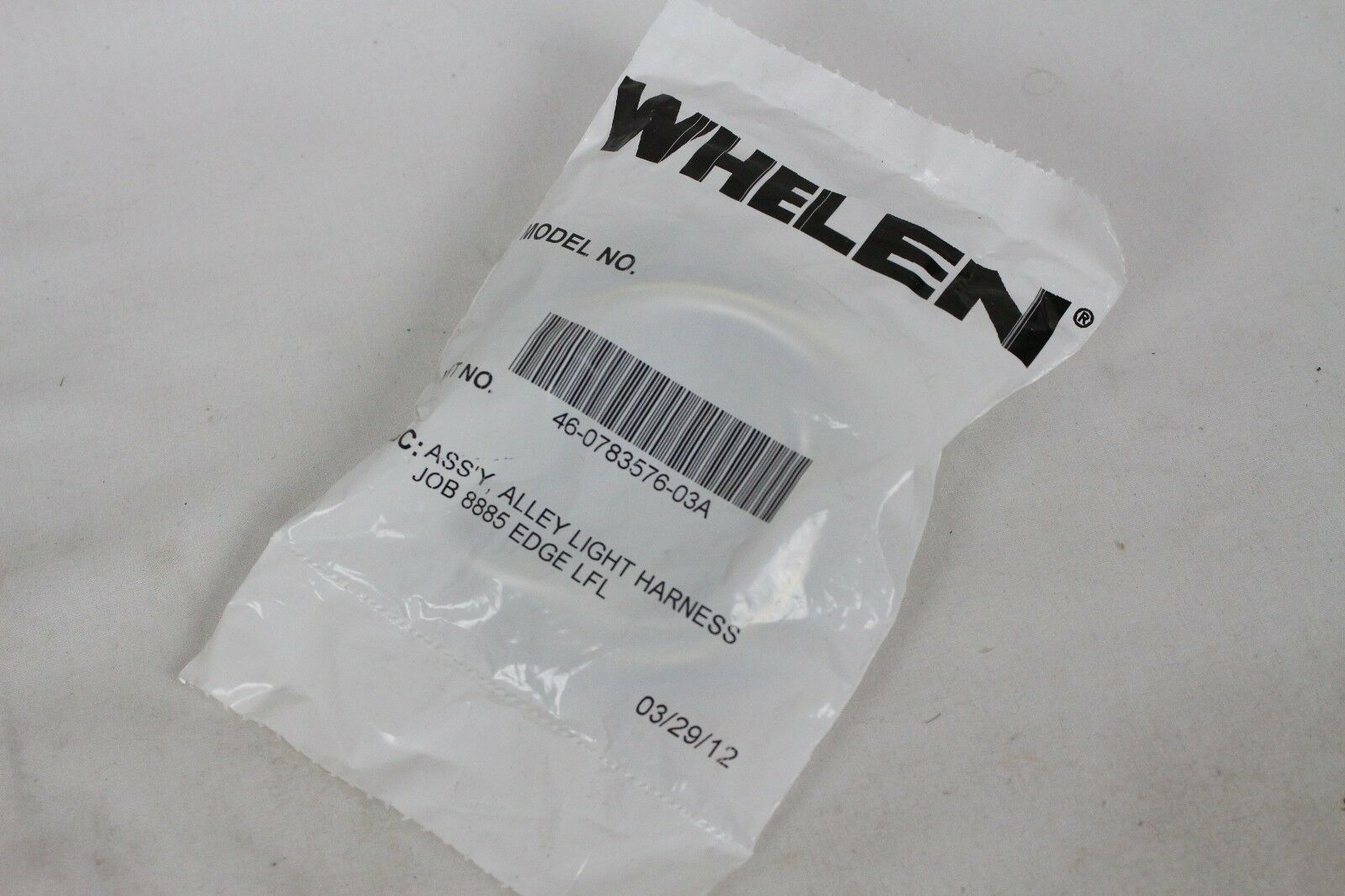 Whelen Alley Light Wiring Harness For 9m Edge LFL Liberty Patriot