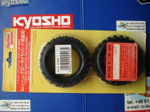 Kyosho W-5034 Front Tyres Turbo Optima Mid Special Bridgestone Sand Super W5034