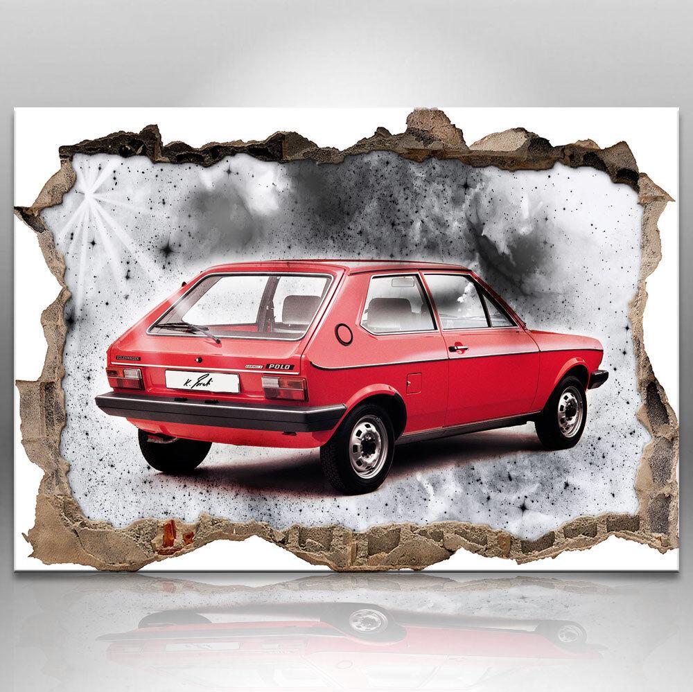 Auto Oldtimer Bild auf Leinwand Abstrakte Kunst Bilder Wandbilder D0850