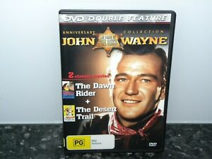 JOHN-WAYNE-The-Dawn-Rider-The-Desert-Trail-DVD-Region-4-VGC