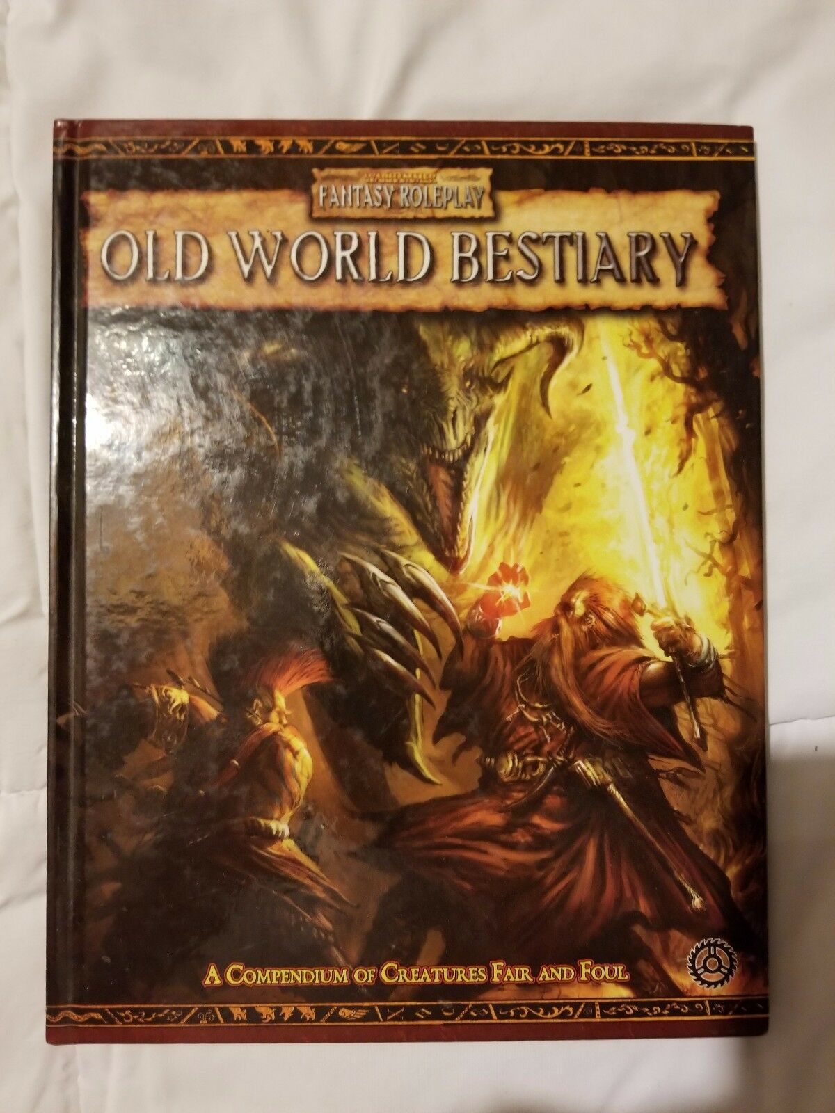 Warhammer Fantasy Roleplay 2nd edition Old World Bestiary