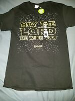Kerusso May The Lord Be With You Black Christian Tshirt Glow In The Dark Ink