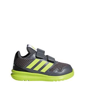 Détails sur Adidas Garçons Course Altarun Chaussures Bébés Baskets CQ0025 Respirant Sporty
