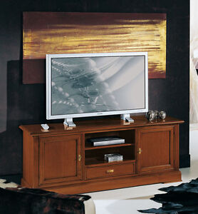 Tv Board Tv Mobel Fernsehschrank Kommode Tv Schrank Massivholz