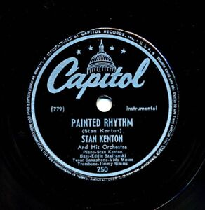 STAN-KENTON-and-his-Orchestra-on-1946-Capitol-250-Painted-Rhythm