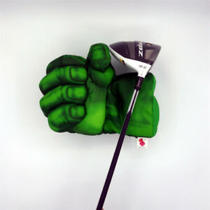 NEW-Green-Hand-The-Fist-Golf-Driver-Headcover-460cc-Boxing-Wood-Cover