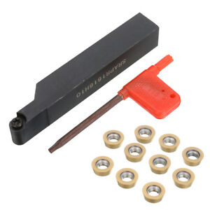 SRAPR1616H10-Face-Milling-Lathe-Tool-Holder-10Pcs-RPMT10T3MO-Carbide-Inserts