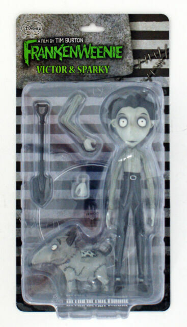 Medicom Toy Corporation Frankenweenie Udf Victor And Sparky Action Figure For Sale Online Ebay