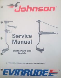 1989 johnson evinrude electric outboard trolling motor. Black Bedroom Furniture Sets. Home Design Ideas