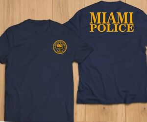New-City-of-Miami-Florida-Police-Department-Unit-Rescue-Custom-T-Shirt-Tee