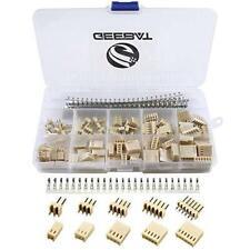 Geebat 300pcs 254mm Kf2510 Connector Kit With Kf2510 254mm Female Pin Headers