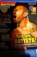 Power Wrestling August 2010 WWE WWF TNA + 2 Poster (Summerslam, Rey Mysterio)