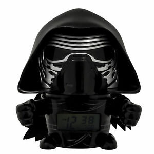 BulbBotz Star Wars, Kylo Ren Clock (5.5 Inch) Children's Alarm Clock