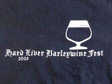 Beer Tee Beefy-T-Shirt: 2005 BROUWER'S Cafe Hard Liver Barleywine Fest ~ SEATTLE
