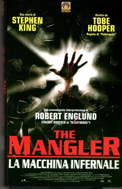 The Mangler 2 (2001) 2 VHS  CVC Video  Stephen King in Omaggio il n° 1