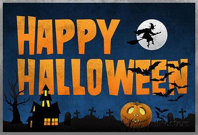 Happy Halloween Poster Print, 19x13