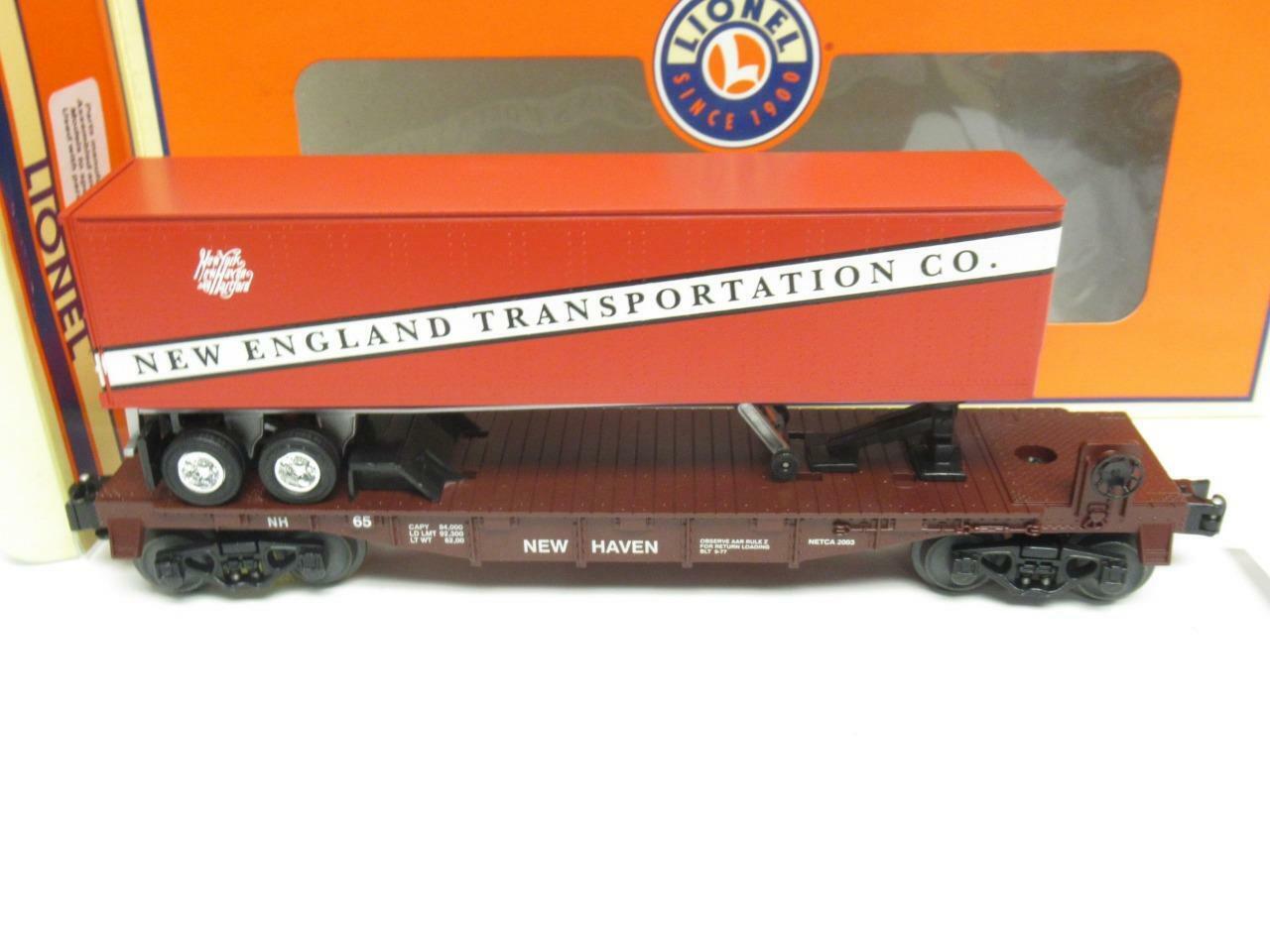 Lionel Ltd.Productions 52306 - Netca Neu England Transporation Flach Auto - M33