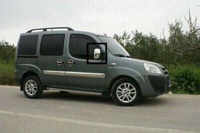 Fiat Doblo 2000-2010 Abs Chrome Mirror Cover 2Pcs