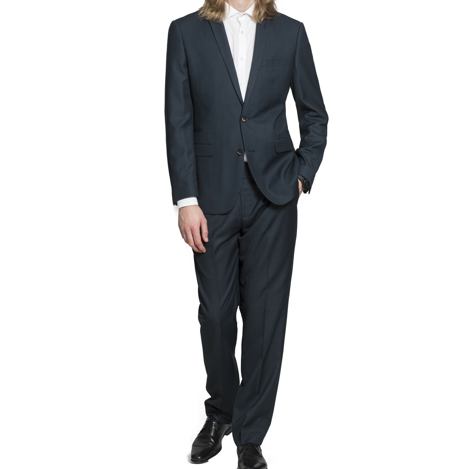 Men's Harry Brown 2 Piece Navy Tailored Fit Suit (46R).. sample 3541