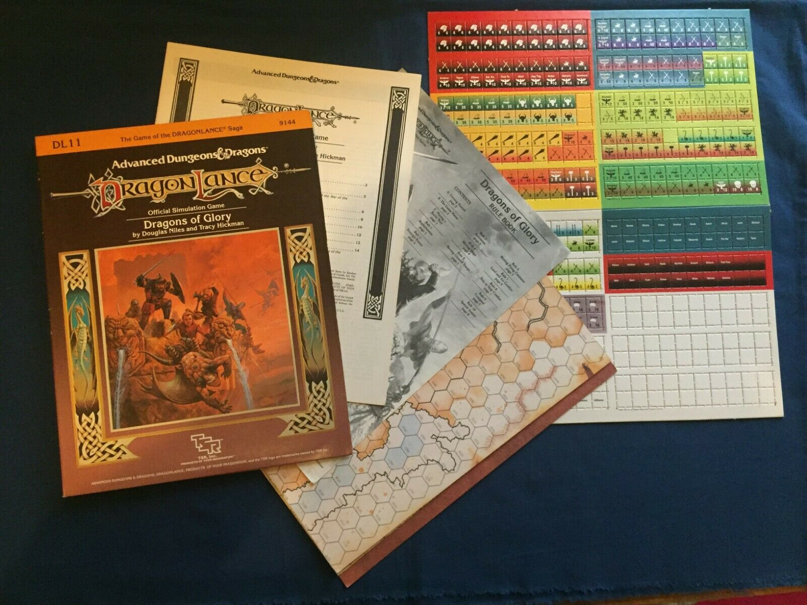 Dragonlance DL11 Dragons of glory Advanced Dungeons & Dragons  TSR 9144  all'ingrosso a buon mercato