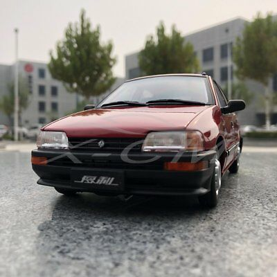 1//64 Scale Toyota DAIHATSU China Tianjin Huali TJ110 Red Diecast Car Model Gift
