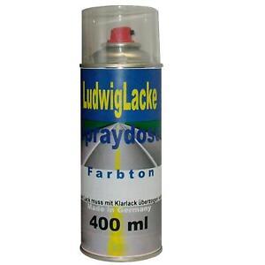 Basislack-Pulverisation-400ml-Qualite-pour-Vw-Volkswagen-Silbersee-LY7W