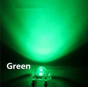 50pcs F5 5mm White Round Superbright LED Light LED lamp NEW