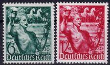 === DR Drittes Reich Mi. 660-661 **, Kat. 20€ ===