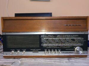 VINTAGE-VALVULA-RADIO-TOCADISCOS-KAPSCH-Troubadour-Phono-PARA-RESTAURAR-1968