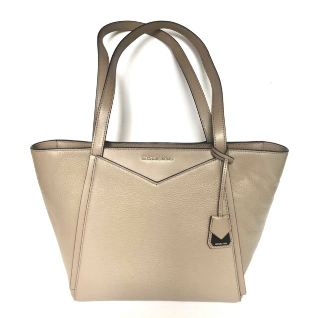 dfe4cca8292a ... promo code for michael kors whitney small tote truffle 30t8tn1t1l  pebbled leather nwt 228.00 e9070 d9636