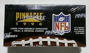 1996-Pinnacle-Football-card-box-Factory-Sealed-24-packs