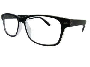 28d33737b54b Extra Strong High Strength Wayfarer DESIGNER Reading Glasses Spring Hinges  811 7.00 Black Crystal