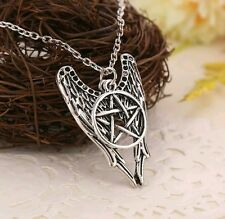 Slayer Demon Wings Pentagram Necklace Pendant Charm Collectible Gift Present