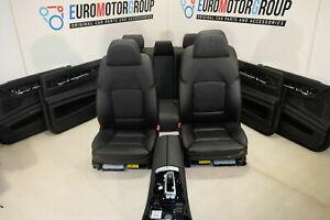 BMW-Pelle-Sedili-Dakota-Nero-7-039-F02-Comfort-Interni-IN-Pelle