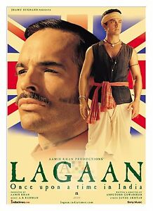 Details about Lagaan 2 Amitabh Bachan Bollywood Movie Posters Classic  Indian Films