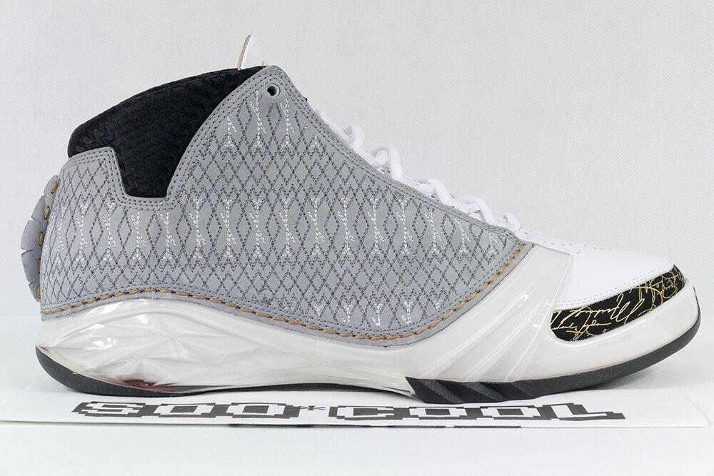 Air Jordan 23 XX3 Stealth grigio grigio grigio bianca 100% Deadstock  2007 OG Release 3a53e0