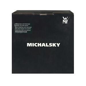 WMF-Espressotasse-Kaffeetasse-Kaffe-Tasse-Michalsky-Tableware-Untertasse-70-ml