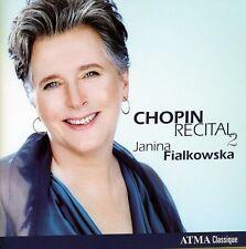 Janina Fialkowska, Andrea Immer - Chopin Recital 2 [New CD]