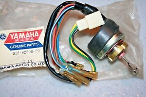 nos Yamaha snowmobile main switch assembly 1971 sl292   #621 812-82508-20