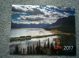CN Canadian National 2017 Train CALENDAR can be used 2023 Reference Frame Photos