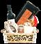miniature 1 - Strenna di Natale SILVER BOX 1 - Cesto Natalizio Gastronomico salumi formaggi
