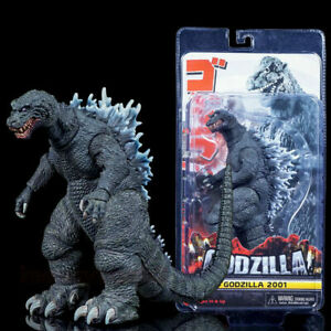 NECA-Monster-King-Godzilla-2001-PVC-6-034-Action-Figure-Play-toy-Gift-Head-Tail-12-034