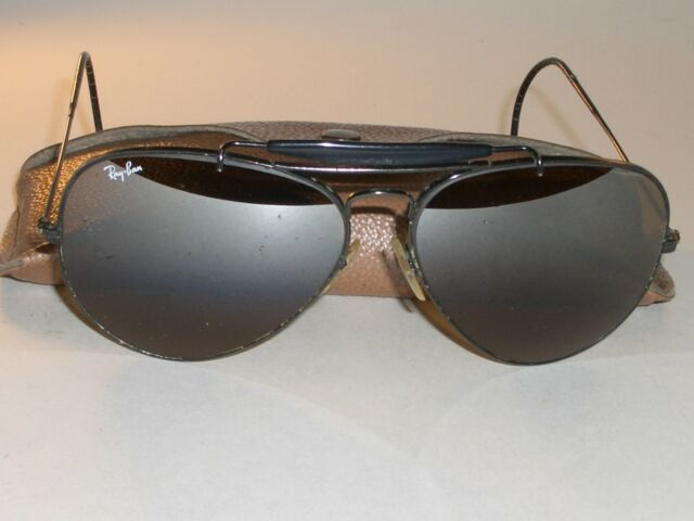 4dd99514c31 ... get bausch lomb ray ban b15 top gradient mirror outdoorsman ii aviator  sunglasses 661c1 de9fa