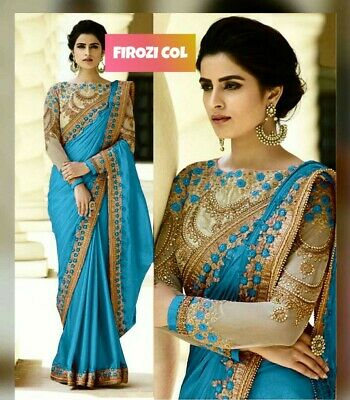 Fonkelnieuw Embroidery Saree Blouse Design Bollywood Indian Cultural Wedding IJ-48
