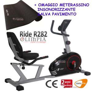 GetFIT-Cyclette-MAGNETICA-Recumbent-RIDE-R282-Seduta-Regolabile-OMAGGIO