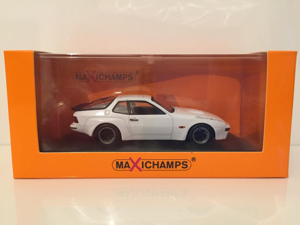 MINICHAMPS 940066121 PORSCHE 924 GT 1981 - Blanc maxichamps NOUVEAU