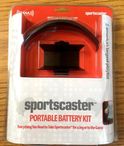 Brand New XM Sportscaster Portable Battery Kit Satellite Radio Antenna Headphone