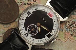 Pobeda-Uhr-PILOT-russische-Uhr-Sowjetische-mechanische-Uhr-gewartet