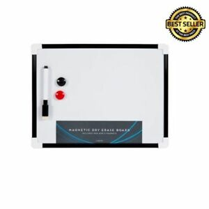 Image Is Loading A4 Dry Wipe Magnetic Whiteboard Mini Office Notice